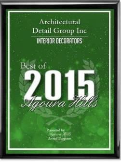 2015 Best Of Agoura In Interior Design