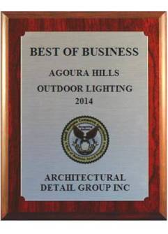Award 2014 Best Of Business ADG Lighting
