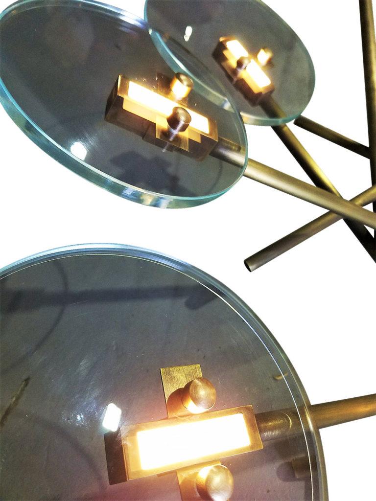 #90770 Schneider Chandelier ADG Lighting Close Up