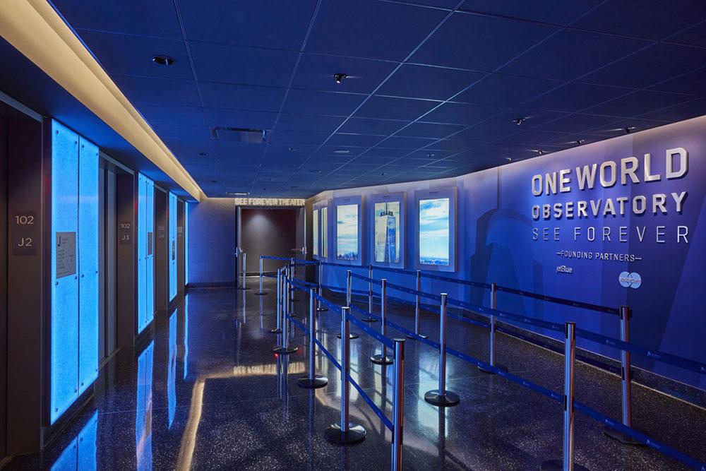Lumicor ADG Elevator Banks Decor Crystal Santorini