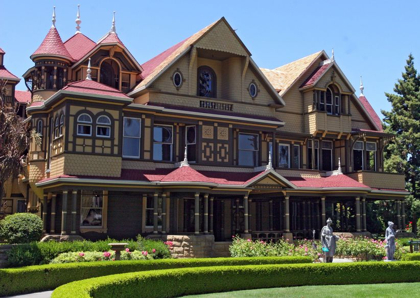 2375099 Front View Of The Winchester Mystery House In San Jose, Ca.