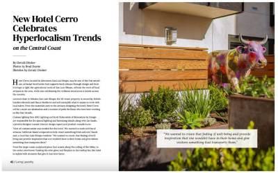 Gerald Olesker Featured Columnist in Living Lavishly Magazine