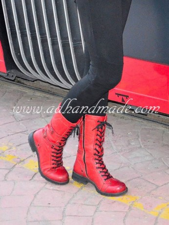 Red Boot by Hammer Jack