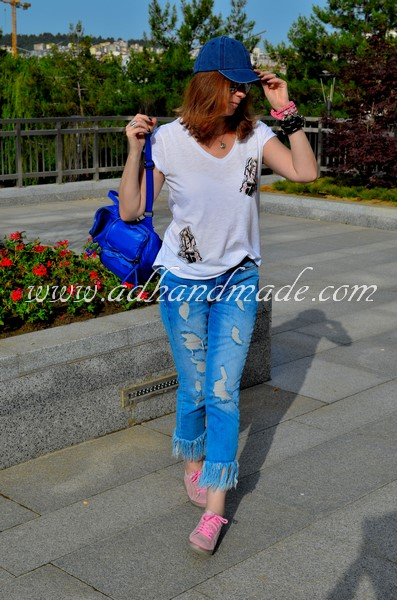 """""""Pink Girl"""" T-shirt; Iron-On Transfer by adhandmade"""