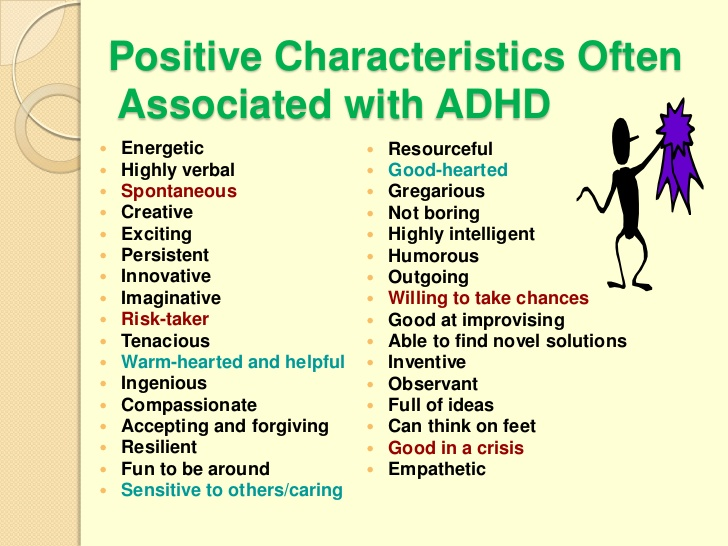 Celebrate the Positive Qualities of ADHD  ADHD Center for