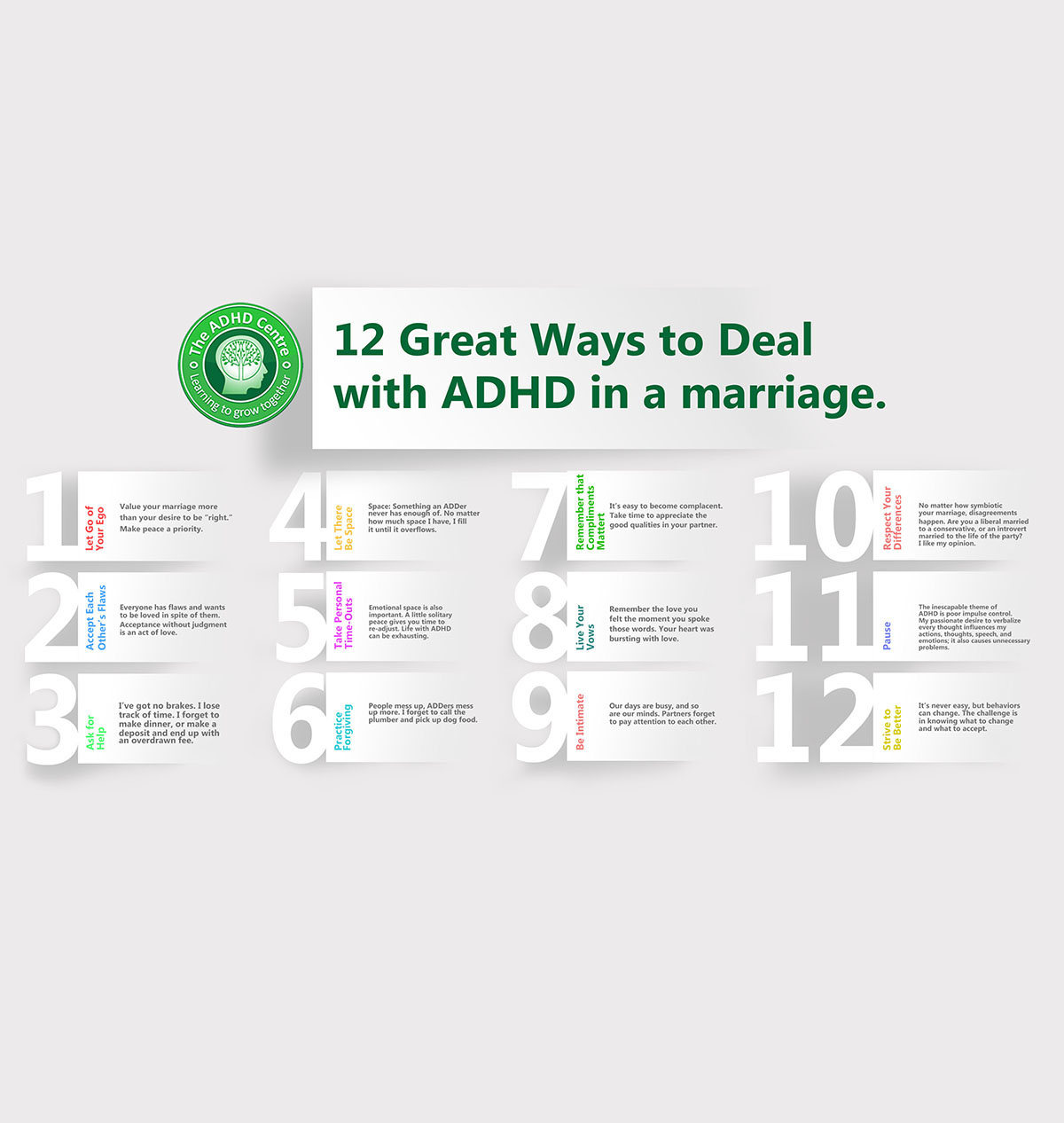 12 Great Ways to Deal with ADHD in a Marriage