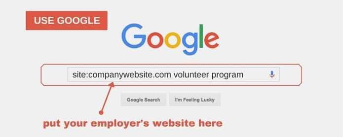 Use google for adhd career volunteer opportunities