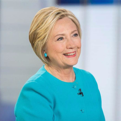 Hillary Clinton on the TODAY show