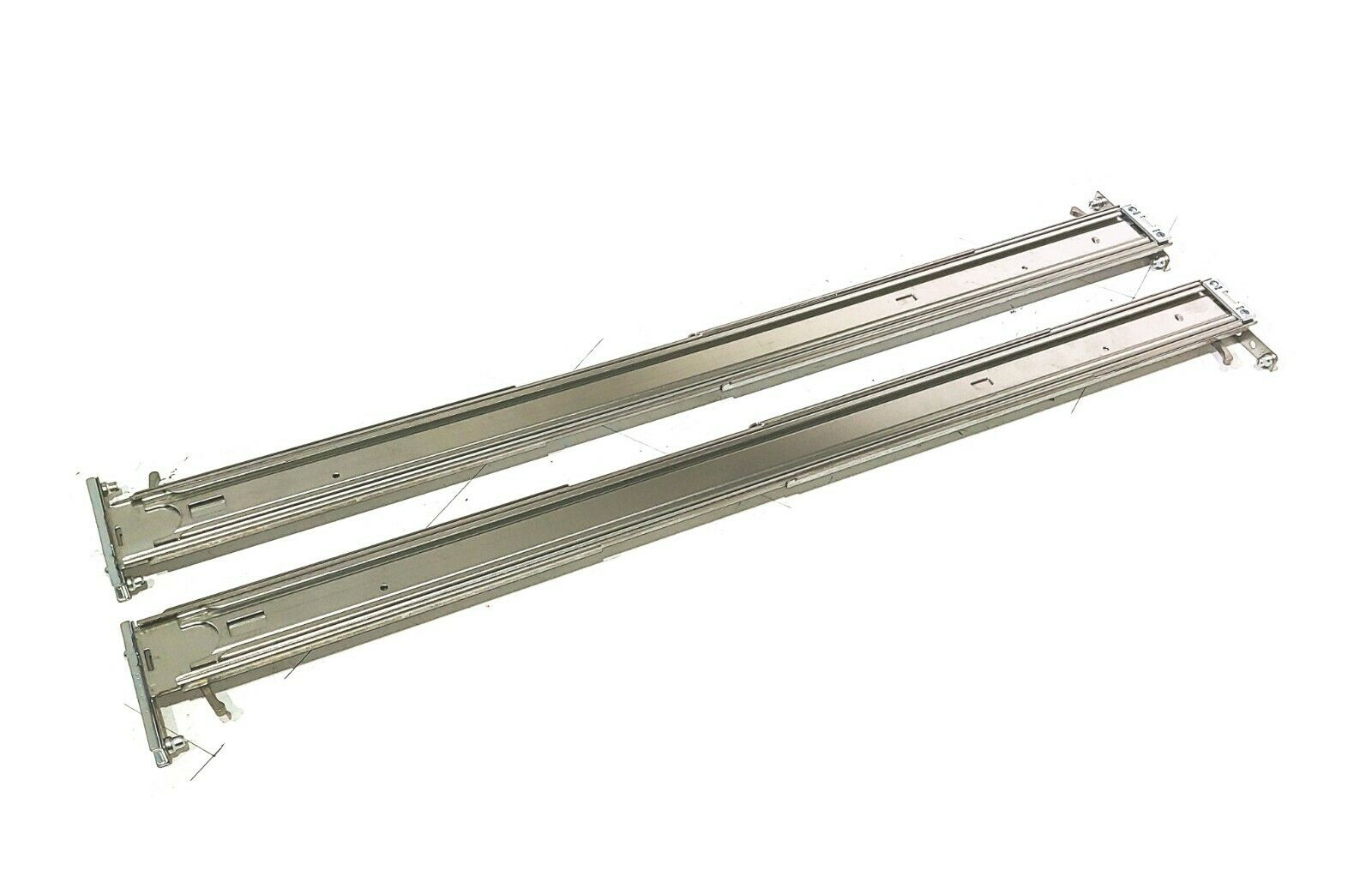 HP ProLiant DL380 G8 G9 SFF 2U Easy Install Rack Rails - OUTER ONLY  718225-001