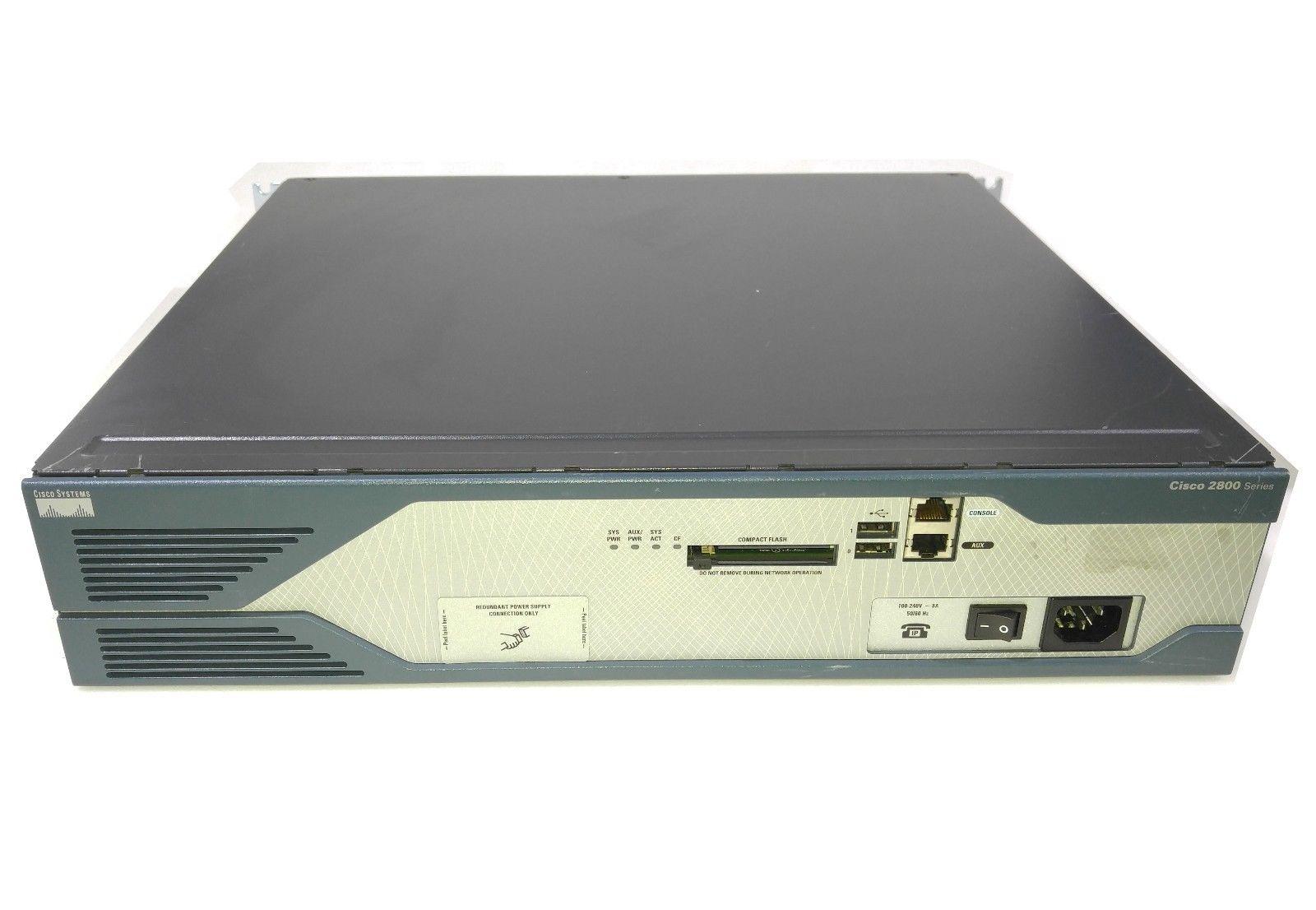 Gigabit Wired Router | Cisco 2800 2821 2 Port Gigabit Wired Router Cisco2821 Ac Ip