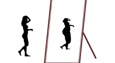 Fehlwahrnehmung und Fehlbewertung bei Anorexie
