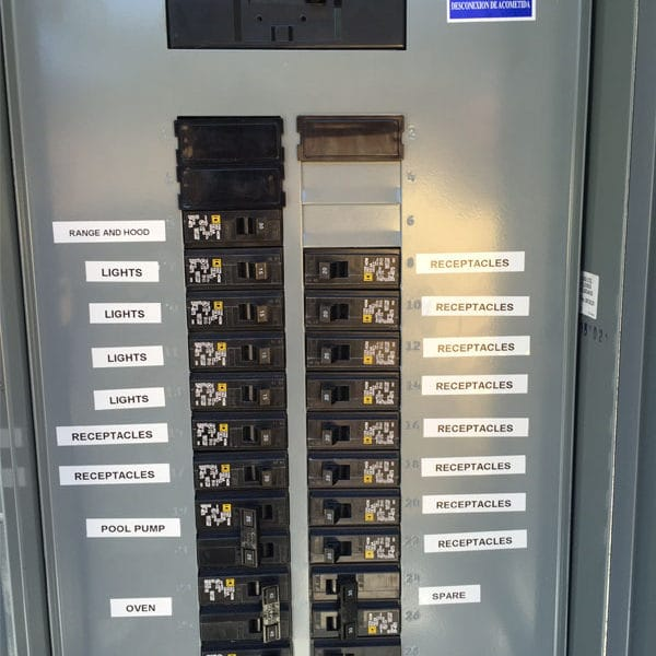 110 Volt Gfci Breaker Wiring Diagram 89 Circuit Breaker Panel Labeling And Home Electrical