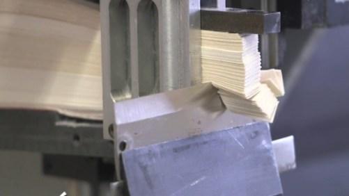 Linear cutting test