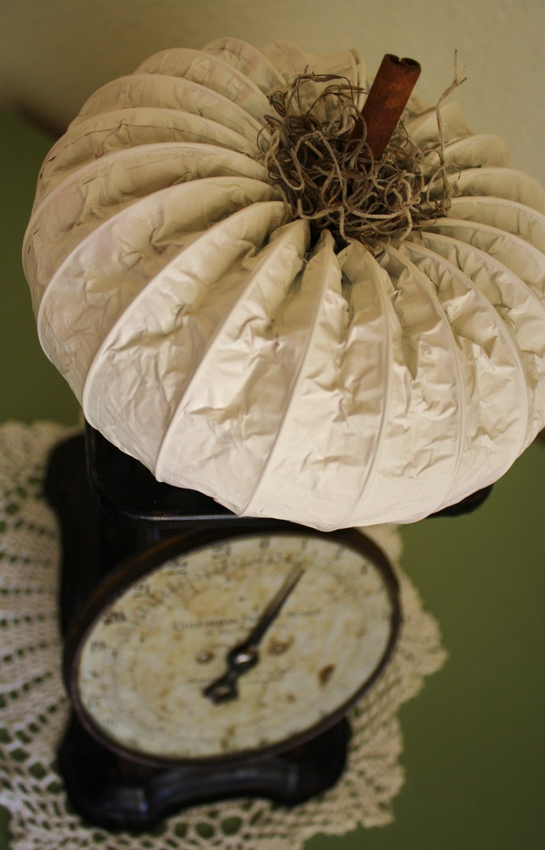 Dryer Vent Pumpkin {Tutorial}