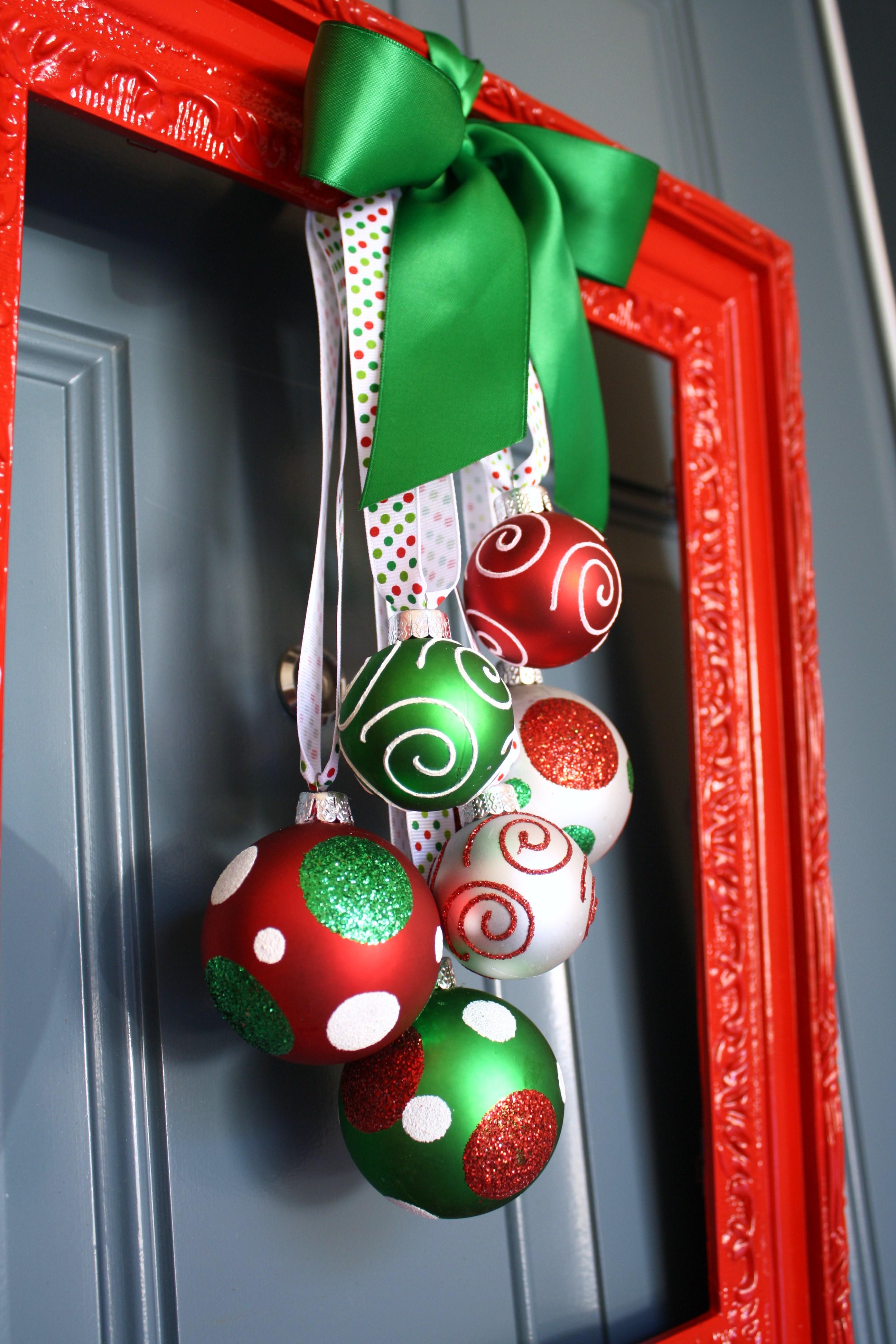 Framed Christmas Wreath