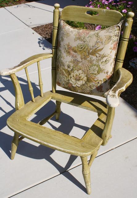 bottomless chair