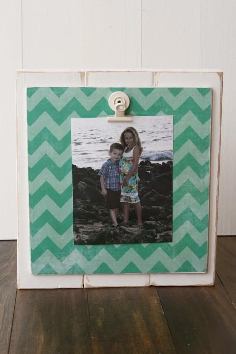 Wood Photo Holder