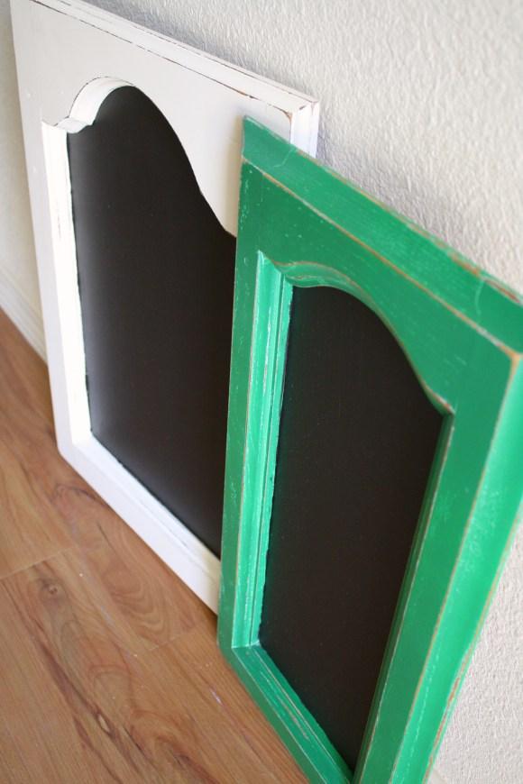 Cabinet Door Chalkboard