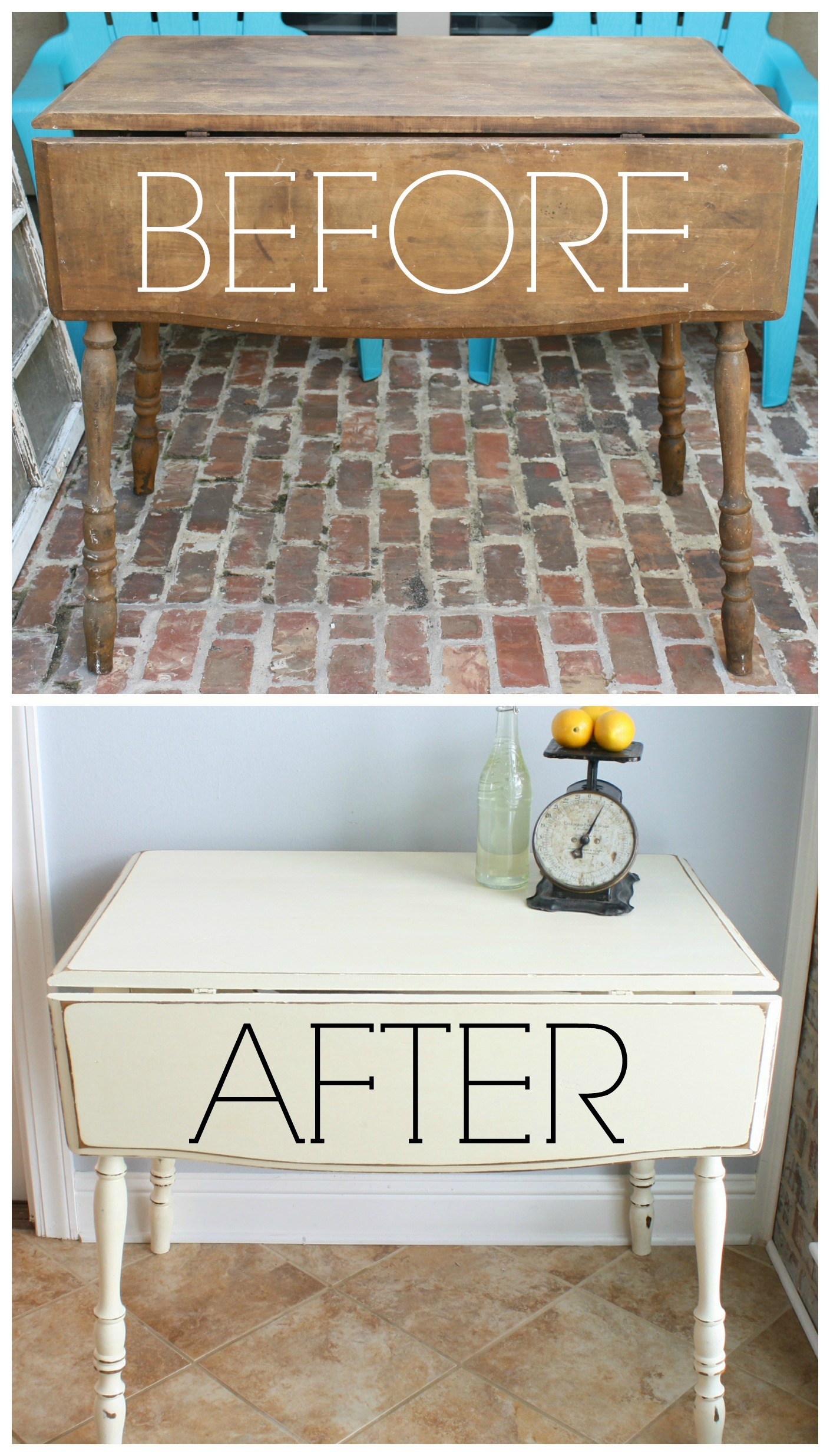 kitchen table with leaf stores vintage drop