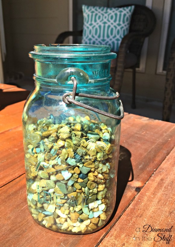 Mason Jar Succulent   A Diamond in the Stuff