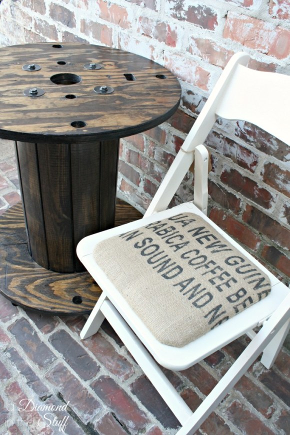 Industrial Spool Table