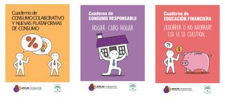 Tres cuadernos para educar en consumo en una sociedad mas igualitaria