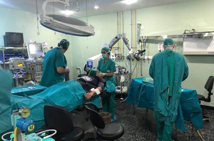 El Hospital de Riotinto inicia tanda de intervenciones quirúrgicas por la tarde
