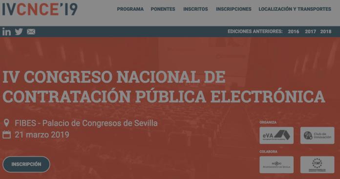 El IV Congreso Nacional de Contratación Pública Electrónica se celebra en FIBES este jueves