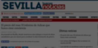 El diario digital Sevilla Buenas Noticias se hace eco del informe El Precio del Rosa elaborado por ADICAE Andalucía