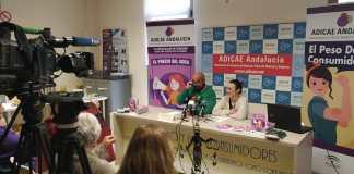 """Presentación ante los medios de comunicación del informe de ADICAE Andalucía """"El Precio del Rosa"""""""