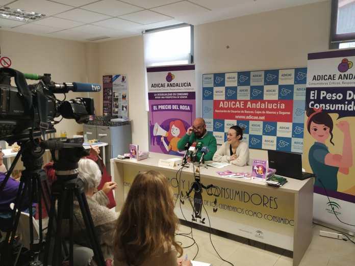 Presentación ante los medios de comunicación del informe de ADICAE Andalucía