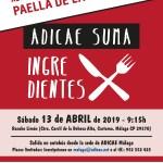 """Nueva cita de """"Adicae Suma Ingredientes"""" con una paella de la huerta"""