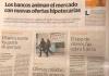 El Diario Sur se hace eco de las reivindicaciones de ADICAE Málaga