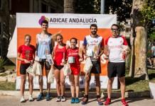 Éxito rotundo en la celebración de la I Carrera Solidaria de ADICAE Andalucía, con 150 participantes