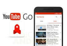YouTube GO, Descargar videos de YouTube