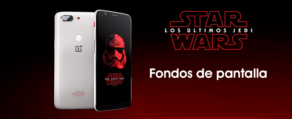 DESCARGAR los fondos de pantalla de Star Wars del OnePlus
