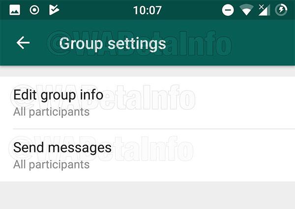 Nuevas funciones de los grupos de WhatsApp