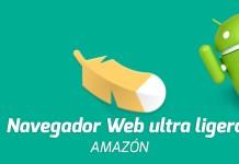 Descargar APK del navegador web ultra ligero de amazón