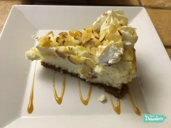 Cheesecake de Amaretto ¡Espectacular!