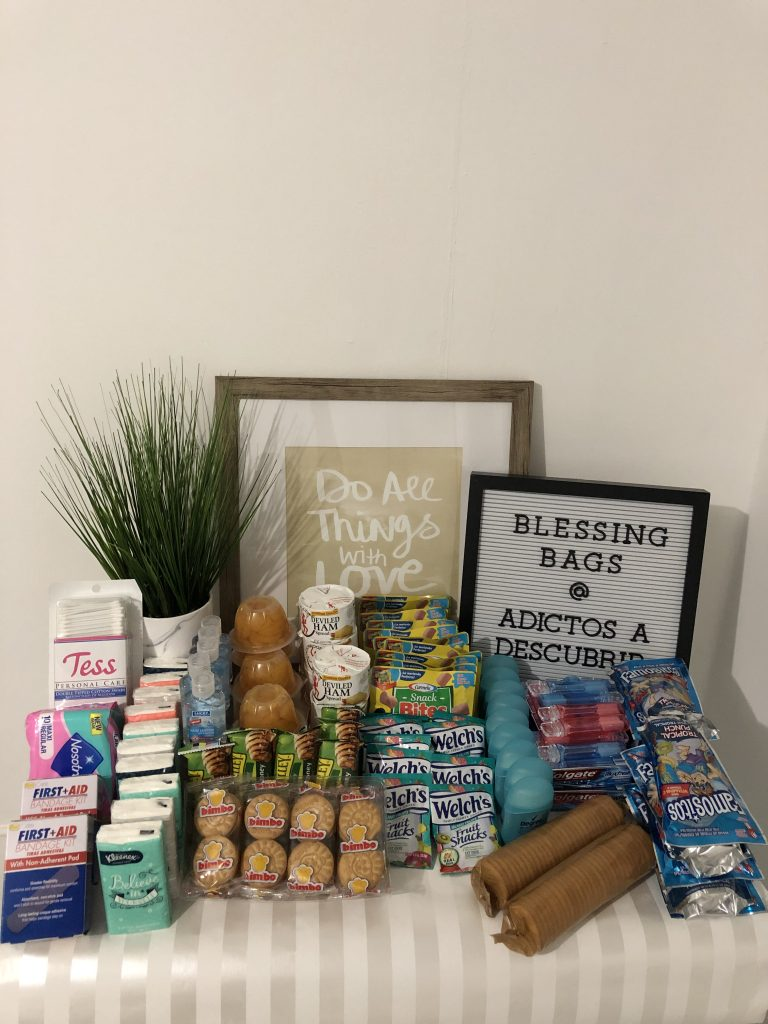 Blessing Bags 2019 for Blessing Box Project