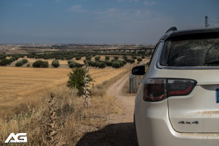trasera Jeep Compass Limited