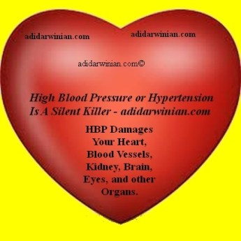 High Blood Pressure or Hypertension Silent Killer - Adidarwinian