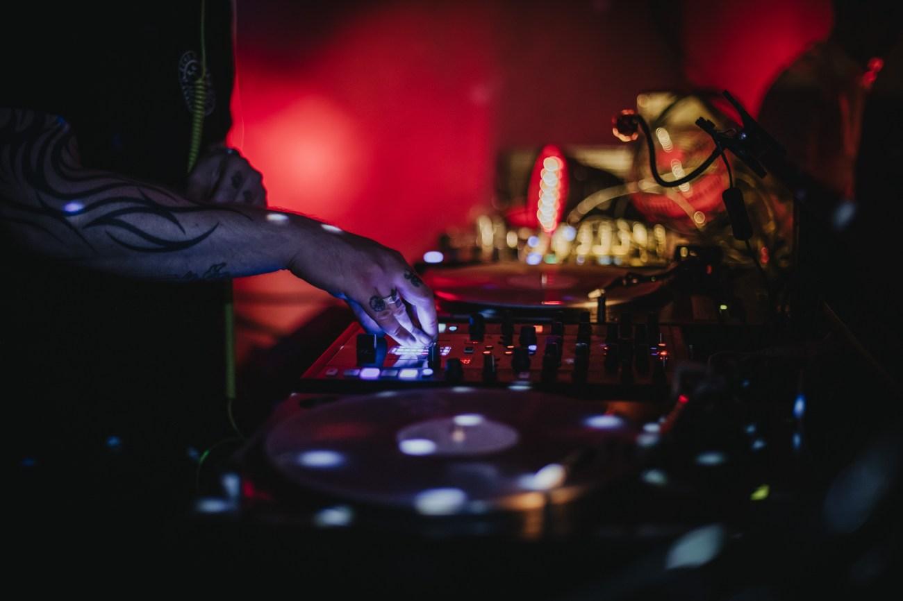 DJ bei einer Hochzeit im Club Grüner Jäger in Hamburg