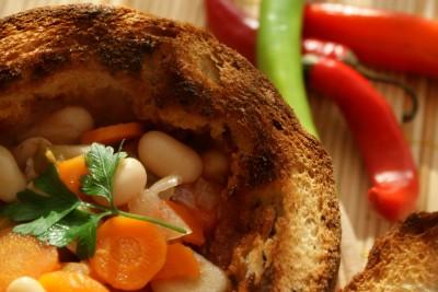 ciorba de fasole in paine 10