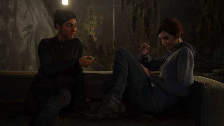 Dina and Ellie The Last of Us Part II