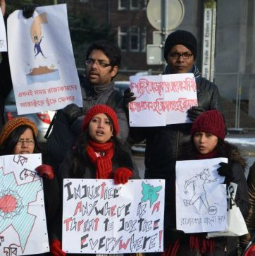Solidarity with #shabag from Hague Netherlands