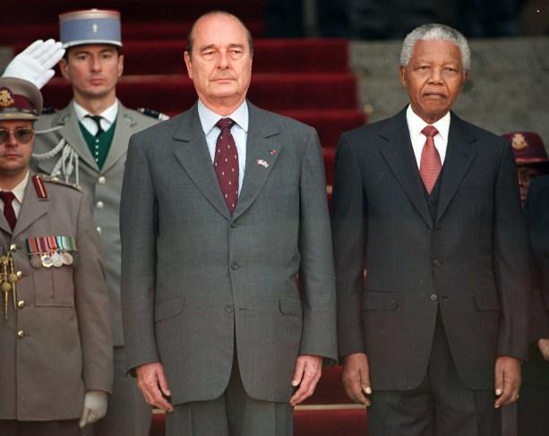 FRENCH PRESIDENT CHIRAC