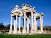 aphrodisias, the city gate