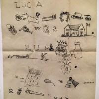An Eames Rebus Letter