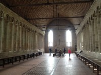 The hall where the monks ate.